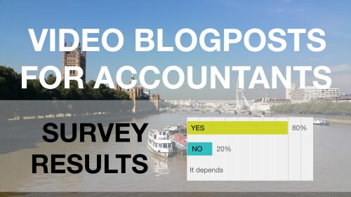 Videoblogposts for Accountants