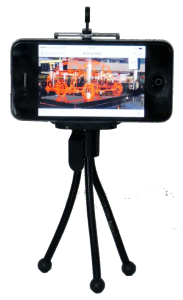 smartphone video - mini tripod