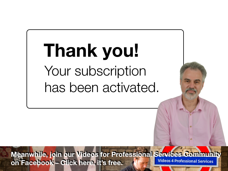 Your subscription has been activated