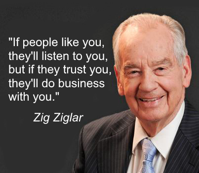 Zig Ziglar on Trust & Business