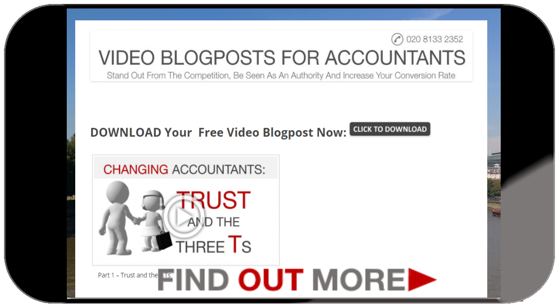 Video Blogposts for Accountants